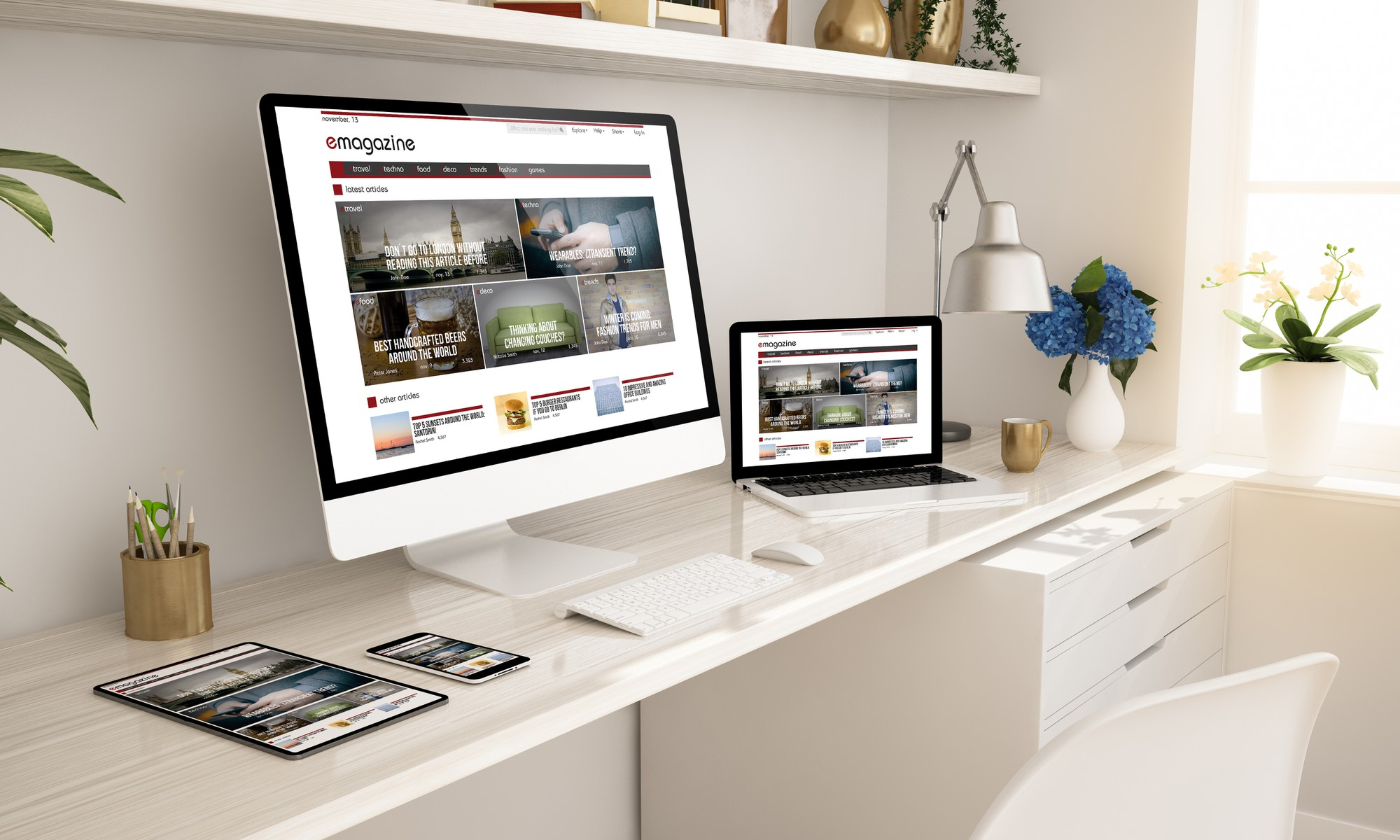 Have A Dedicated Home Office Space