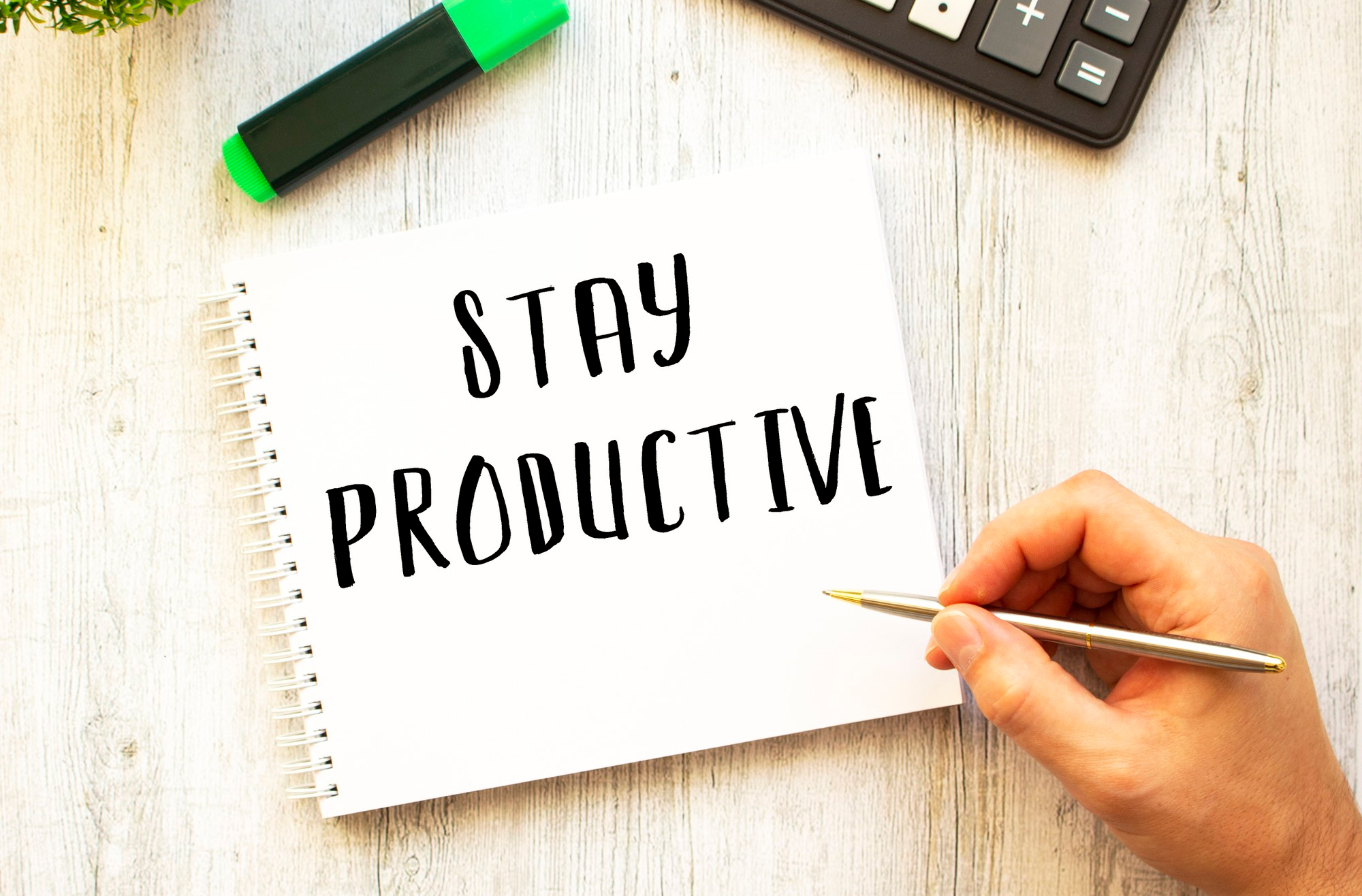 Other Tips On Remote Work Productivity