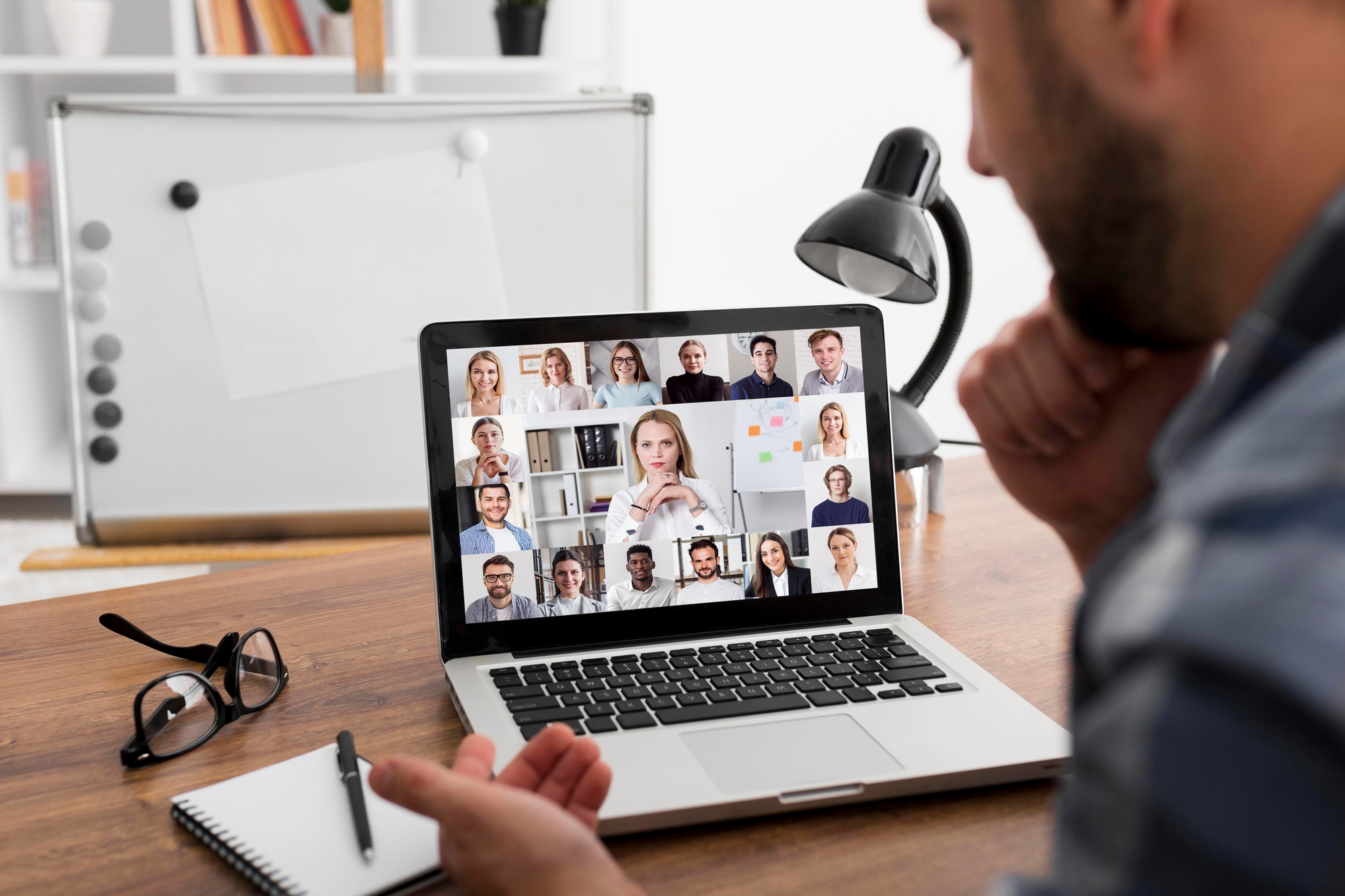 Conducting your online meeting